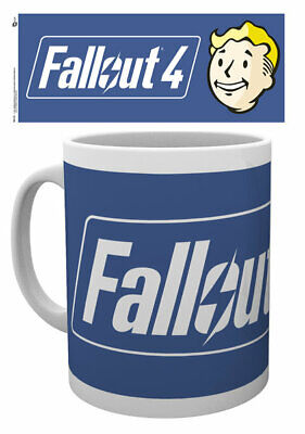 Fallout 4 - Ceramic Coffee Mug /cup (Logo And Vault Boy)