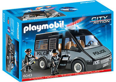 Playmobil Police Van With Lights And Sound 6043