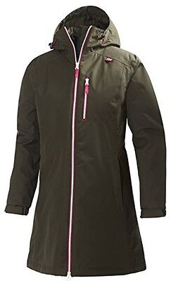 (TG. Large) Helly Hansen - Giacca impermeabile W Long Belfast, Donna, Mantel W L