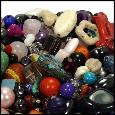 Semi-Precious Gemstone Bead Mix - 50g
