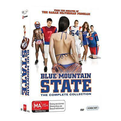 Blue Mountain State : Season 1-3(DVD, 2016, 6-Disc Set)(Region 4) Aussie Release
