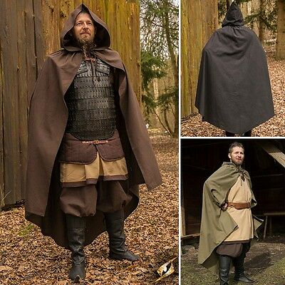 Childrens Age 6-10 Ready For Battle Cape - Ideal For LARP & Re-Enactment