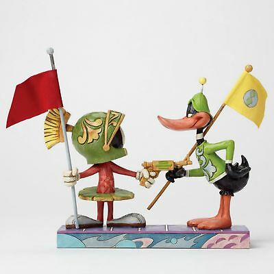 LOONEY TUNES Jim Shore Skulptur -Marvin the Martian & Daffy Duck- Figur 4049388