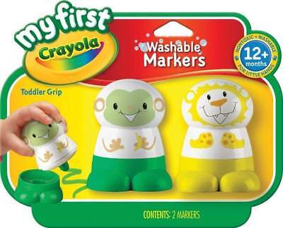 My First Crayola Washable Markers Green/Yellow