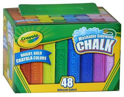 Crayola Washable Sidewalk Chalk 48pc