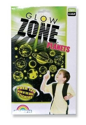 Glow Zone Sticker Pack - Planet Zone