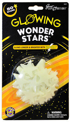 Great Explorations Glow in the Dark - Wonder Stars 50