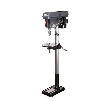 16 Speed Drill Press Floor Mount // 45 Tilt Angle Table 360 Degree 120V 3//4HP