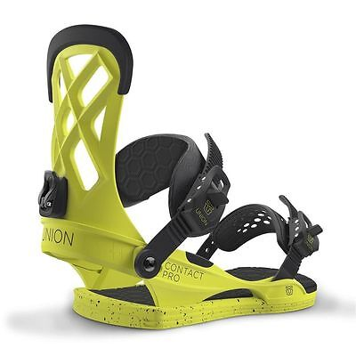 Union Contact Pro Snowboard Bindings Mens Unisex Hardware New