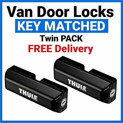 Ford Transit Custom Thule Van Door Security Lock Twin Pack - 309833