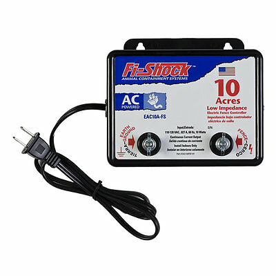 Fi-Shock EAC10A Fence Charger, 10 Acre, (replaces SS-525)