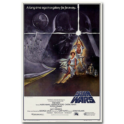 Star Wars Episode IV A New Hope Hot Movie Silk Poster Print 12x18 24x36 inch