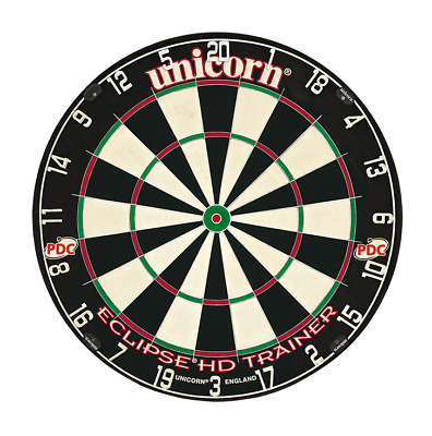 Unicorn Darts Eclipse HD Trainer Bristle Board PDC Quality Competition Dartboard