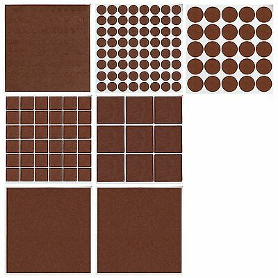 Gimars 240pcs Furniture Floor Protectors Felt Pads Adhesive Wall Chair Scratch