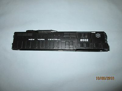 American Flyer by Lionel #4-8552 New York Central #8552 GP9 Diesel Engine Shell