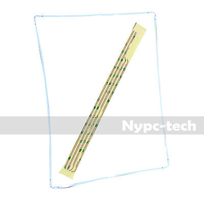 5x Plastic Bezel/Gasket/Border/Trim Screen Replacement Part For iPad 2 3 4 White