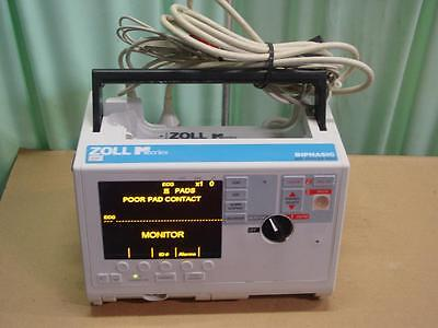 Zoll M Series Monitor  Biphasic, 3 Lead ECG        AED                      t