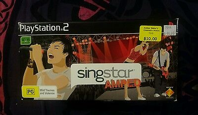 SingStar Amped Boxed (Sony PlayStation 2, 2008)