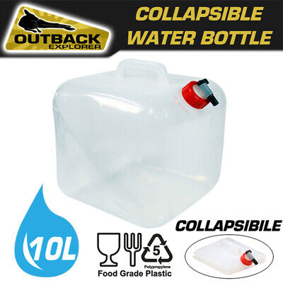 10L Portable Folding Drinking Water Bag Outdoor Camping Bladder Reservoir