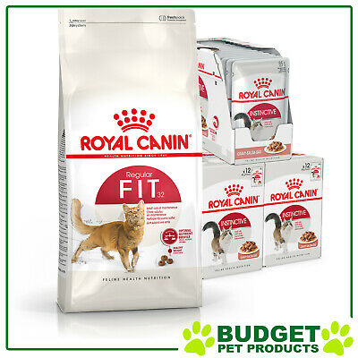 Royal Canin Monthly Bundle Cat Food Fit For Adult Cats