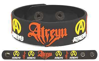 ATREYU Rubber Bracelet Wristband Suicide Notes and Butterfly Kisses Long Live