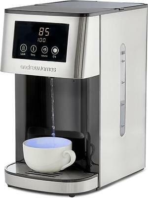 Andrew James Purify Instant Hot Water Dispenser, Includes 2 Water Filters, 4L
