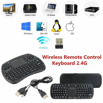 Wireless Remote Control Touchpad Handheld Keyboard 2.4G For Android TV PC Mini Y