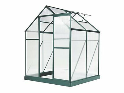 New Greenhouse 6 x 4ft Green ships to NZ only