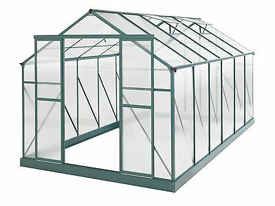 New Greenhouse 14 x 8ft Green ships to NZ only