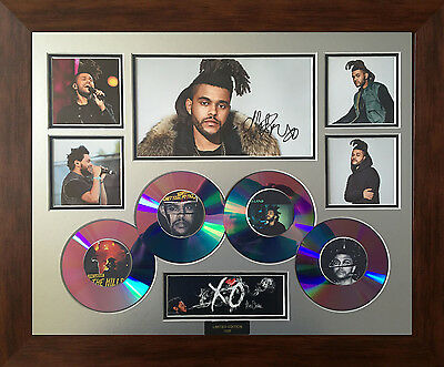 The Weeknd Signed Limited Edition Framed Memorabilia