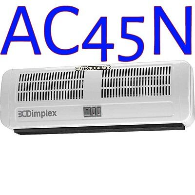 Dimplex AC45N 4.5Kw 4500W Air Curtain Over Door Fan Heater Indoor Curved Warm