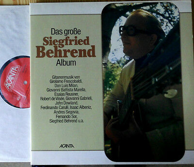 Siegfried Behrend Das Grosse Siegfried Behrend Album 2-Lp Set