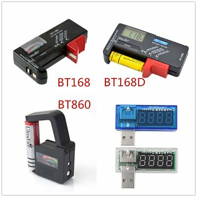 Universal AA AAA C D 9V 1.5V Button Cell Battery Volt Tester Checker Indicator Y