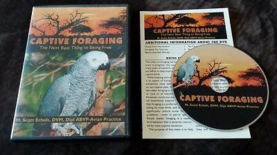 Captive Foraging: The Next Best Thing to Being Free (DVD) bird pet care Echols