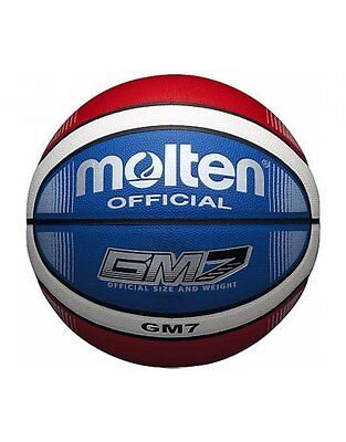Molten BGMX-C PU Leather Fiba Approved Patented Official 12 Panel Basketball