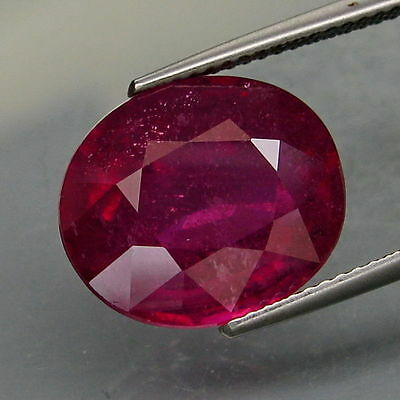 12,13 CTS EXCELENTE.RUBI  NATURAL - BIG Top Red Pink Ruby Mozambique