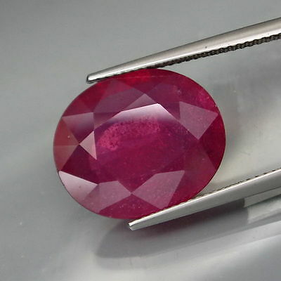 13,17 CTS EXCELENTE.RUBI  NATURAL - BIG Top Red Pink Ruby Mozambique