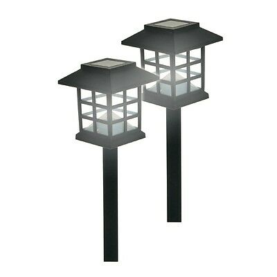 12x ORIENTAL Solar Power Powered Garden Stake LED Fence Wall Lights Outdoor