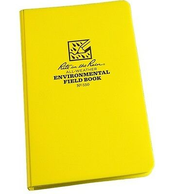 Rite in the Rain 550 All-Weather Heavy Polydura Environmental Field Book