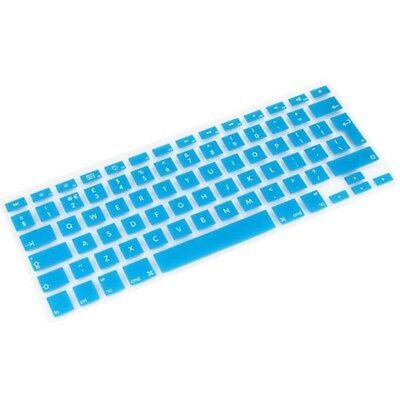 ELETTRONICA Baby Blue 10 PCS Silicone Soft European-style English Keyboard Prot