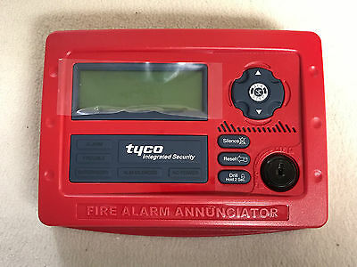 Tyco Fire-Lite Alarms TIS-ANN-80 Remote Fire Annunciator 80-Character LCD Panel