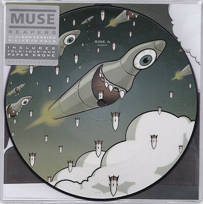 "Muse - Reapers - 7"" Picture Disc Vinyl Record Store Day 2016"