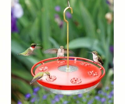 ASPECTS #441 HummZinger 16 oz EXCEL HIGH VIEW HUMMINGBIRD FEEDER Made in USA #dm