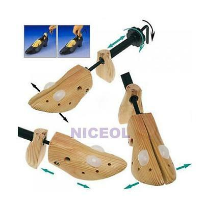 Adjustable Women Lady High Heel Shoes Tree Wooden Stretcher Shaper Professional