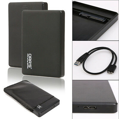 USB 3.0 HDD External Enclosure Case Box For SATA 2.5inch Hard Disk Drive Mobile
