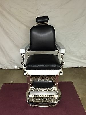 Antique Barber Chair Berninghaus/Hercules