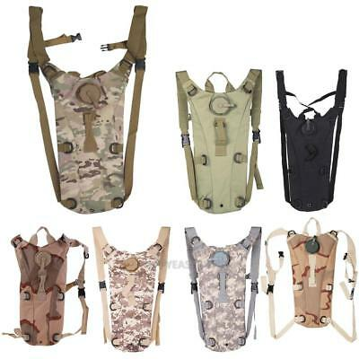 3L Nylon Water Bladder Bag Hydration Backpack Camelbak Pack Hiking Camping