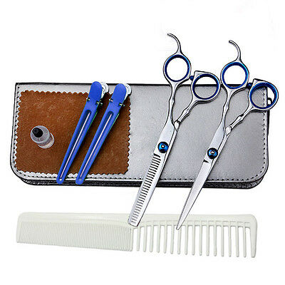 """Professional Hair Cutting/Thinning Scissors Barber Shears Hairdressing Set 6"""" #A"""