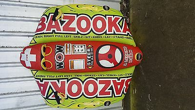 WOW Watersports BAZOOKA - Inflatable Tube Biscuit Water Toy