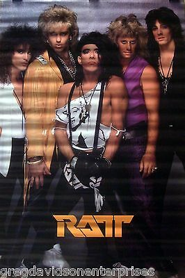 Ratt 24x36 Monroe Group Poster 1987 Stephen Percy